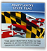 Maryland's State Flag flier cover